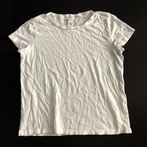 American Eagle T-shirt basic white crewneck